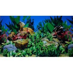 Фон для аквариума двухсторонний высота 50 см