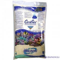 Песок живой арагонитовый CaribSea Bahamas Oolite 0,25-1мм