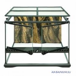 Террариум из силикатного стекла 45x45x30 см