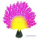 Флуоресцентная декорация Коралл веерный розовый