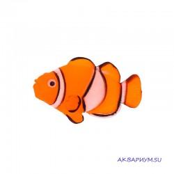 Флуоресцентная декорация Рыба клоун