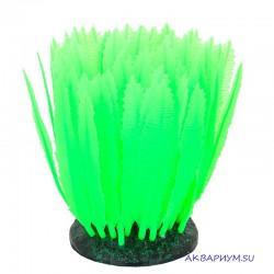 Флуоресцентная декорация Морская лилия зеленая