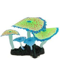 Флуоресцентная декорация Кораллы зонтики зеленые