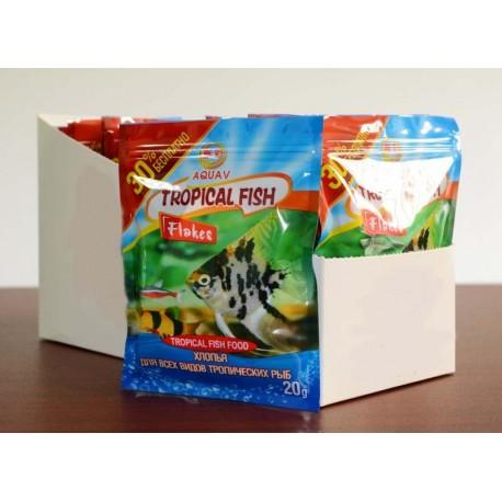 Хлопья для всех видов тропических рыб
